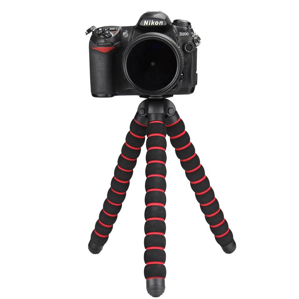 Max Size Sponge Octopus Tripod for Gopro SJCAM Yi Nikon d3300 d5300 d7200 Canon 600d 6d