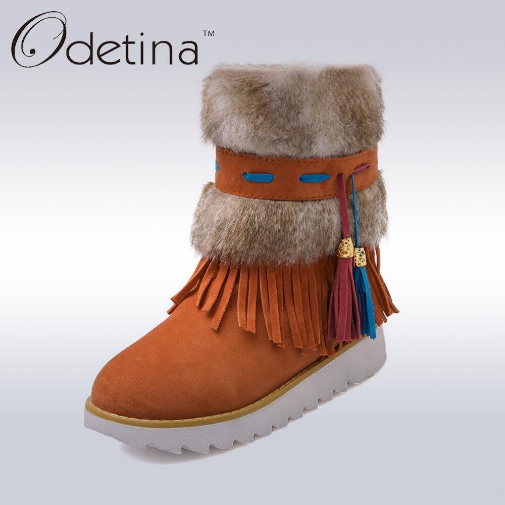chaussure en daim dans la neige,surgut marque 2017 de mode d hiver