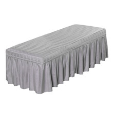 Standard Massage Table Skirt Beauty Face Facial Bed Cover Linen Valance Sheet for Most Cosmetic Beds(China)