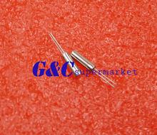 20 pcs 32.768 KHz 32768 HZ Cristal Oscilador 2x6mm TOP
