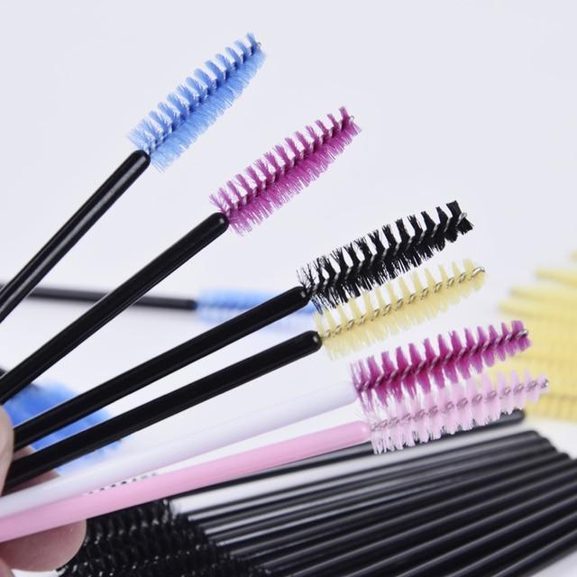 1 Pack Hot Sale 10pcs Applicator Spoolers Makeup Brush Tool Cosmetic Eyelash Extension Disposable Mascara Wand