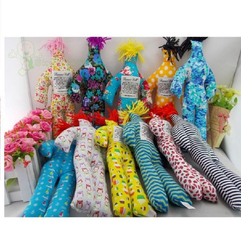 "10pcs NEW Random Pattern Color Stress Relief 12/"" Dammit Doll Plush toy"