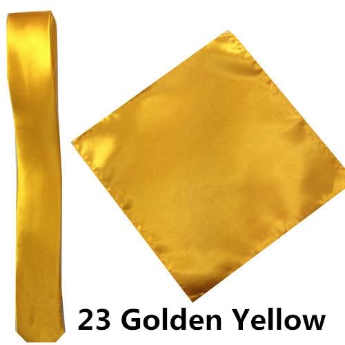 23 _  39 Colours Man Polyester Silk Pocket Sq. Tie Go well with Set Hanky Groom Wedding ceremony Fits Enterprise Handkerchief Necktie ZY186117 HTB1072kyKuSBuNjy1Xcq6AYjFXaz