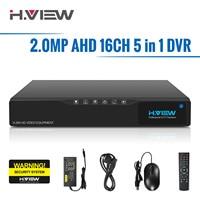 16 CH 1080N CCTV DVR Recorder H 264 HDMI Network Digital Video Recorder Suit Anolg AHD