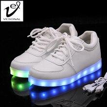 Schoenen chaussures lumineuse загорается homme femme световой человек взрослых качества высокого