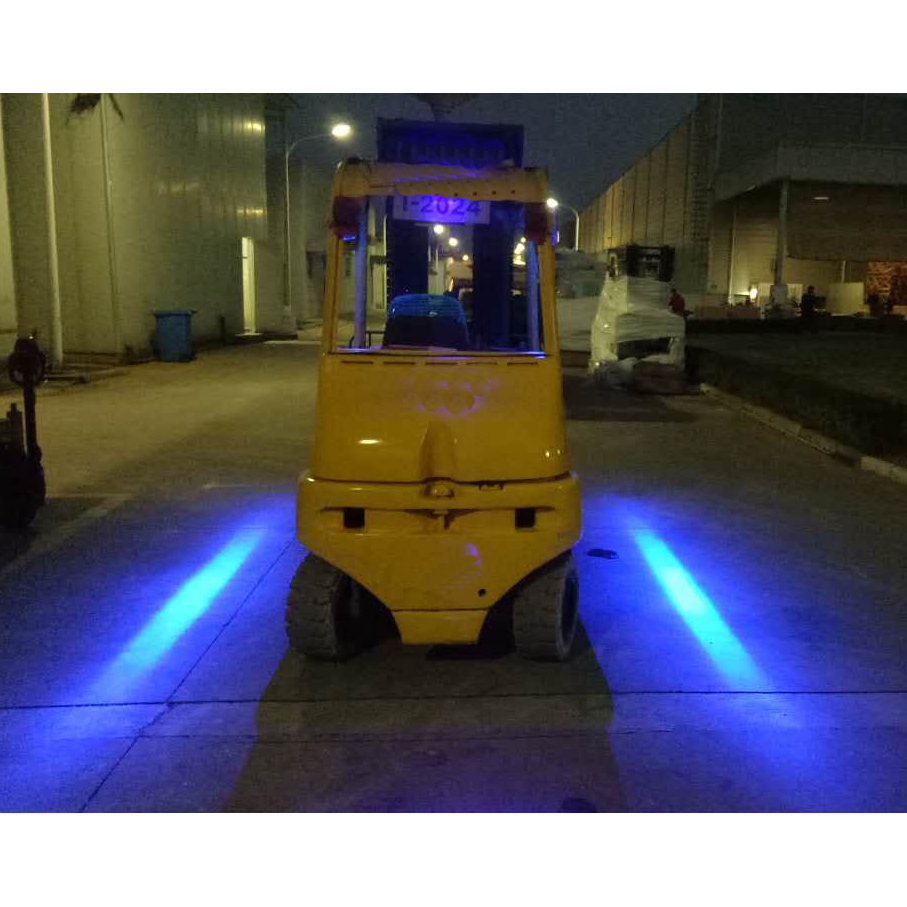 12v 24v 48v 60v 72v Forklift Blue Red Spot Safety Work