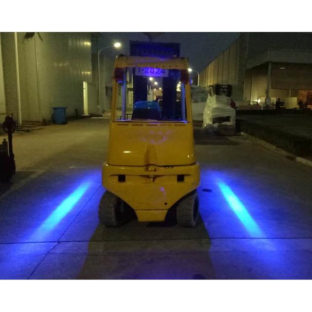 Led Fork Lift Lights : Aliexpress buy v forklift blue red
