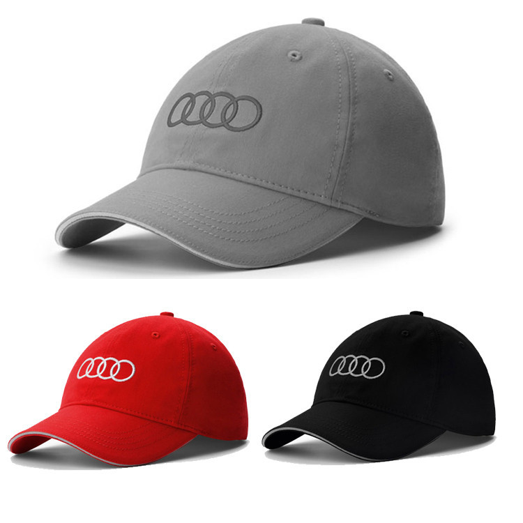 Audi Golf Cap Embroidery Sports Baseball Cap 2015 Style Fashion Metal  Buckle Racing Gorras Men Women Free Shipping-in Baseball Caps from Apparel  Accessories ... afe72108ca
