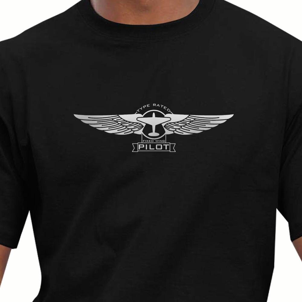 2019 Hot Sale 100% CottonAeroclassic Pilots PPL Flying Pilots Wings T-Shirt ( PPL3T)Summer Style Tee Shirt