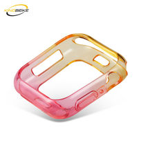 KINGBEIKE New Design Full Protective Frame For Apple Watch 40mm 44mm Popurlar Watch Case For iWatch Series 4 Colorful Watchcase