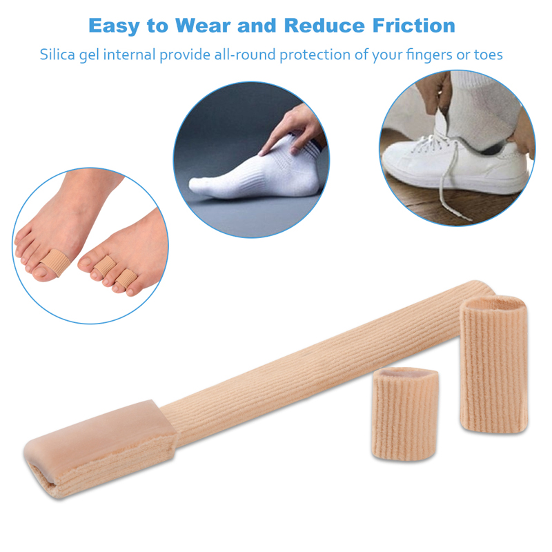 1,8 * 20cm Fabric Gel Tube Bandage Finger & Toes Håll Kudde Corns - Sko tillbehör - Foto 5