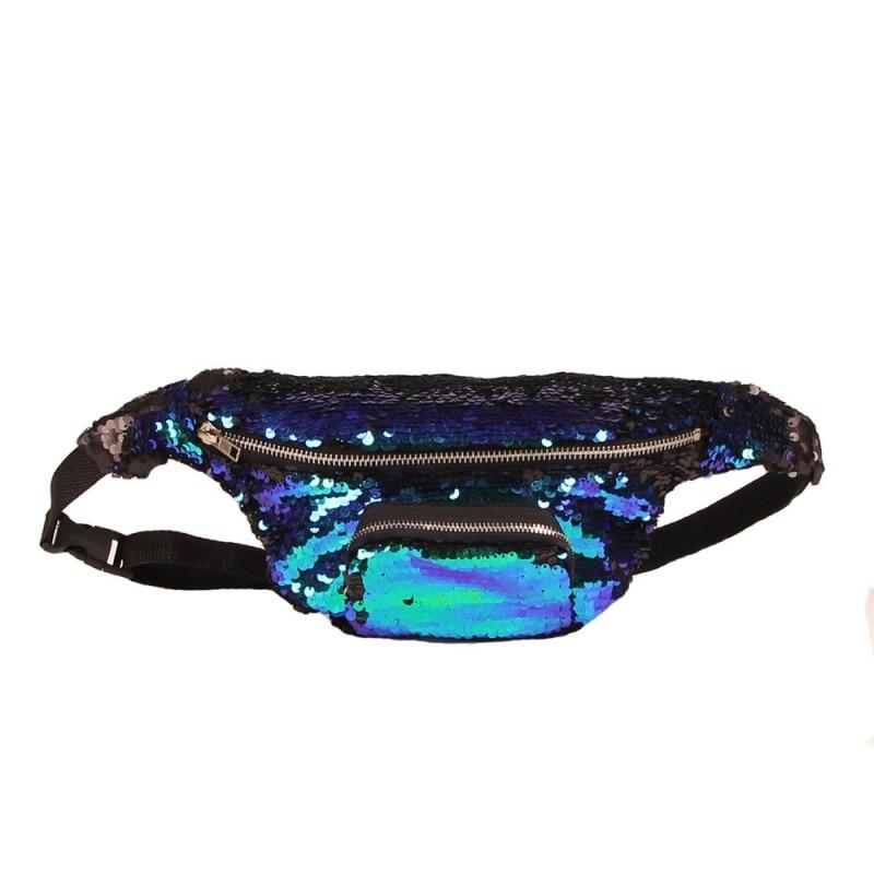 SAFEBET Märke Mode Kvinnor Mermaid Talje Packs Multifunktionella 3D - Bälten väskor - Foto 5