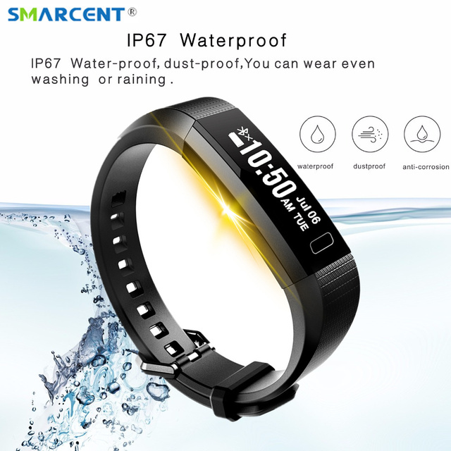 Smart Band 2 Heart Rate Monitor Fitness Tracker Watch Step Counter Calorie Bracelet Sleep Pedometer