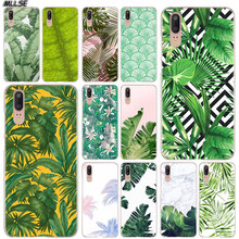 MLLSE Tropical leaves Palms Tree Fashion Case Cover for Huawei P30 P20 P10 P9 P8