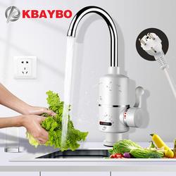 KBAYBO водонагреватель кран кухонный кран Мгновенный водонагреватель Душ мгновенные нагреватели Tankless вода кран с нагревом ЕС штекер