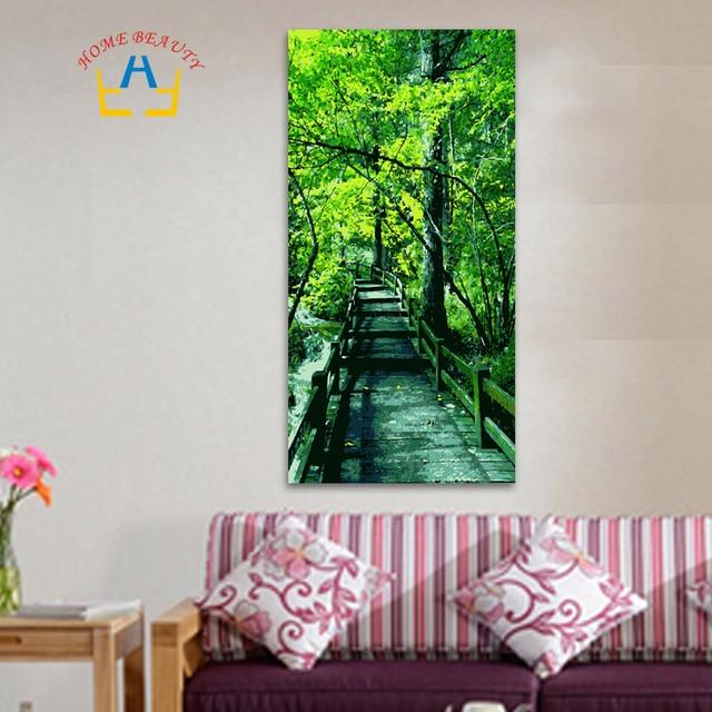 40*80 cm grande pittura a olio dai numeri colorare disegno della decorazione del