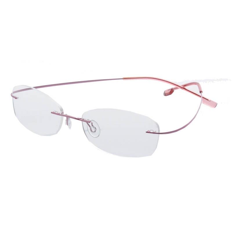 Moda Óculos de Armação Mulheres Óculos Limpar Lens Frames Eyewear Glasse  Óptica Livre de Aço Inoxidável de Armação Oculos de grau Ev1421 66ba542c02