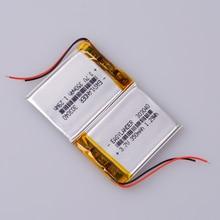 Литий-полимерная аккумуляторная батарея 3,7 V 350 mAh для bluetooth mp3 reader 303040 MP3-плеер DVR рекордер
