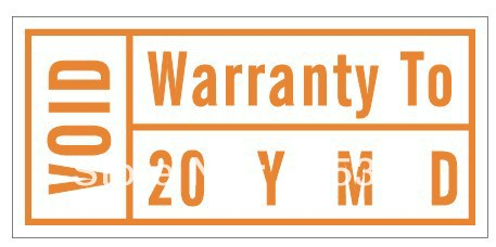 30000pcs lot 1 5x0 7cm Warranty To year month day VOID if tampered seals label stickers