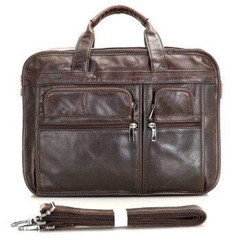 J.M.D 100% Genuine Vintage Leather Men's Chocolate Messenger Bag Briefcase Laptop mwy fashion casual shoes woman comfortable breathable mesh soft sole female platform sneakers women chaussure femme basket femme