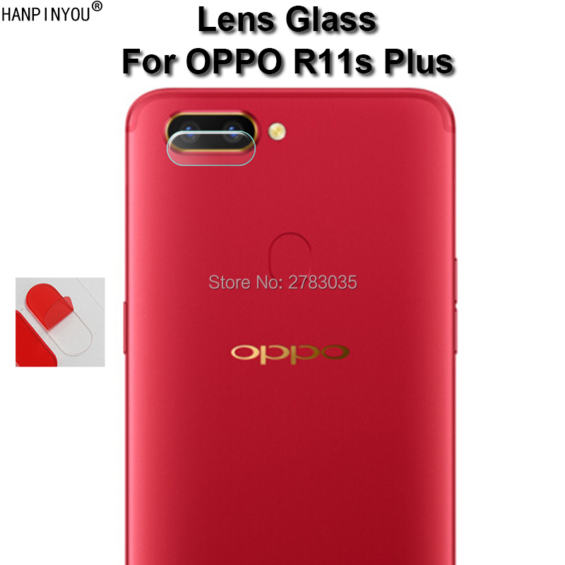 For OPPO R11s Plus / R11s+ 6.43 Clear Ultra Slim Back Camera Lens Protector Rear Camera Lens Cover Tempered Glass Film