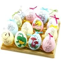 Gouache di Doodle Uovo Strumenti di Pittura Bambino DIY Di Puzzle Giocattolo Colorato disegno Easter Egg Magia Set