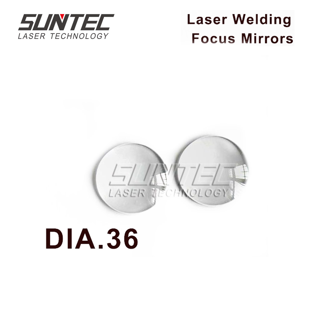 Suntec Laser YAG 1064nm Focus Lens Focusing Mirrors DIA.36 For Laser Welding Machines HAN'S LASER TRUMPF ROFIN