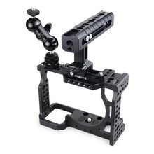 MAGICRIG DSLR Camera Cage with NATO Handle and Ball Head for Sony A7II /A7III /A7SII /A7M3 /A7RII /A7RIII Camera Extension Kit(China)