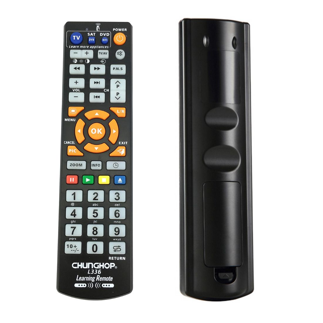 CHUNGHOP L336 Copy Smart Remote Control Controller With Learn Function For TV CBL DVD SAT learning chunghop rm l14 universal smart remote control with learn function for tv cbl dvd sat dvb controller copy