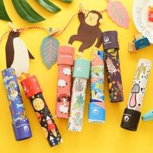 Cartoon 3D Kaleidoscope Imaginative Fancy Colorful World Magic Toddler Sensory Educational Toys For Children Gifts Random Color