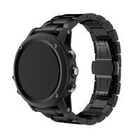 HL Titanium Steel Bracelet Wrist Strap Smart Watch Band For Garmin Fenix 3 HR Sept 8