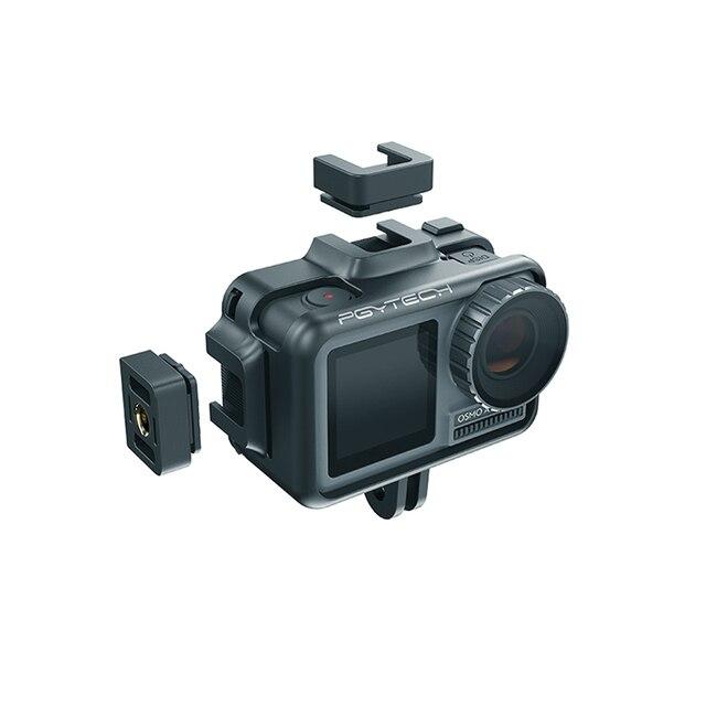 Étui de protection de Cage de caméra daction PGYTECH OSMO pour DJI Osmo