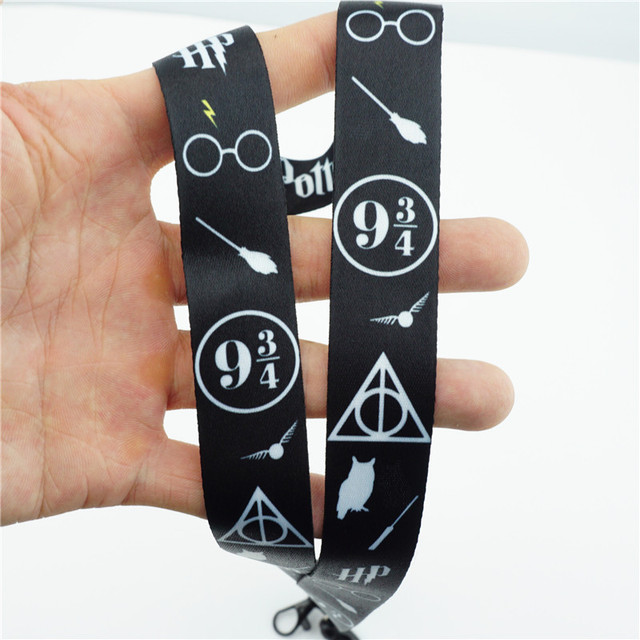 Hogwarts School The Deathly Hallows Lanyard Neck Straps