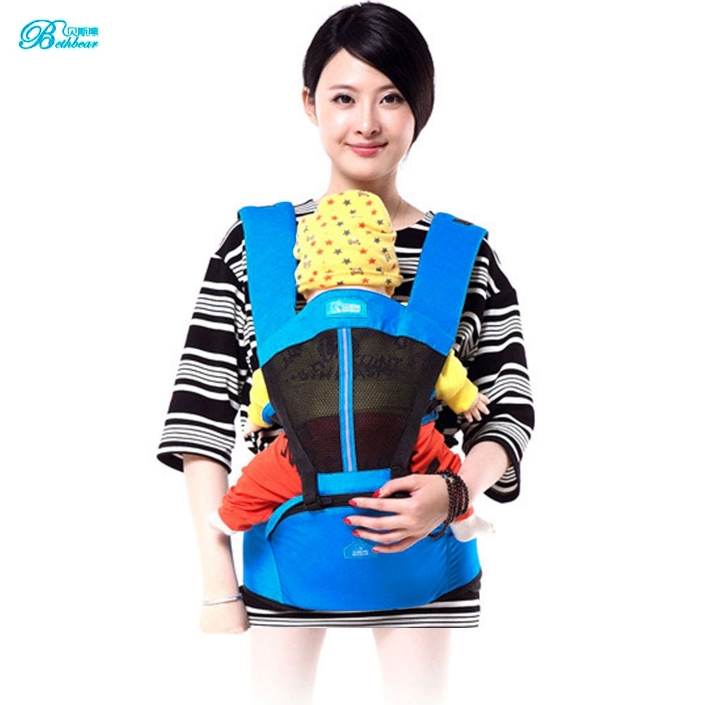 Bethbear Baby Carriers Adjustable Shoulders Embrace Babies Waist Stool Back Carry Front Carry Front Facing Backpacks Carriers ...