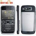 Abierto original nokia e72 teléfonos celulares cámara de 5mp wifi bluetooth fm gps teléfono qwerty teclado