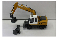 1/50 Multi function wheel excavator model A904C Alloy simulation Collection model