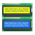 2pcs= 1pcs Blue + 1pcs Yellow Backlight 1602 HD44780 LCD Display 5v