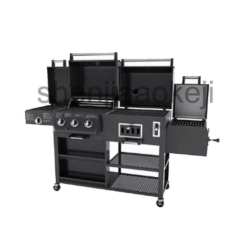 Thickening Infrared oven, charcoal bbq grill, gas oven, smoked oven, large family villas garden villa gas grill 1pc thickening infrared oven charcoal bbq grill gas oven large family villas garden villa gas grill 1pc