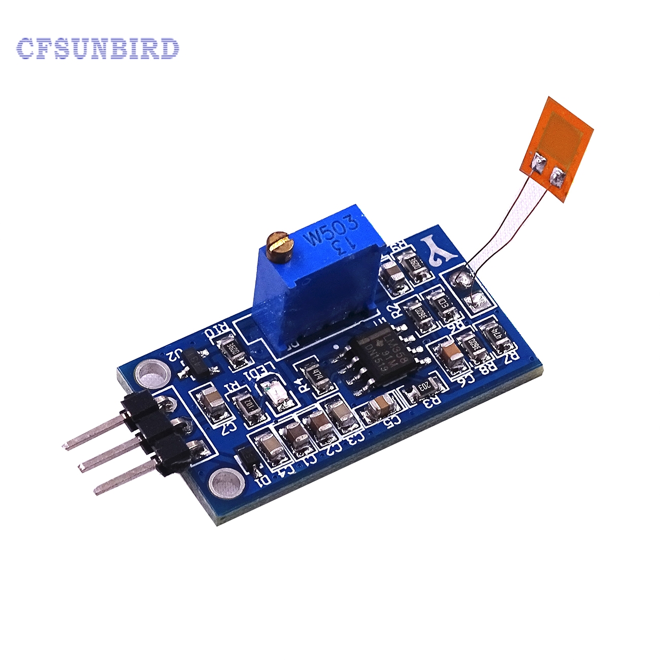 все цены на CFsunbird 1pcs Strain gauge bending sensor module Y3 weighing amplifier module send program information онлайн