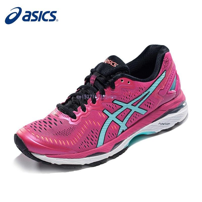 ASICS GEL-KAYANO 23 femmes coussin stabilité course chaussures Sport plein air chaussures baskets respirant rétro antidérapant livraison gratuite