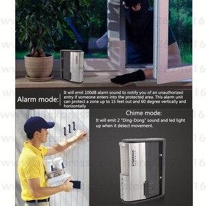 Image 3 - Doberman Security Motion Sensor Home Security Alarm Sensor Detector Infrared Motion Alarm Chime IR Doorbell Alarm Welcome Chime