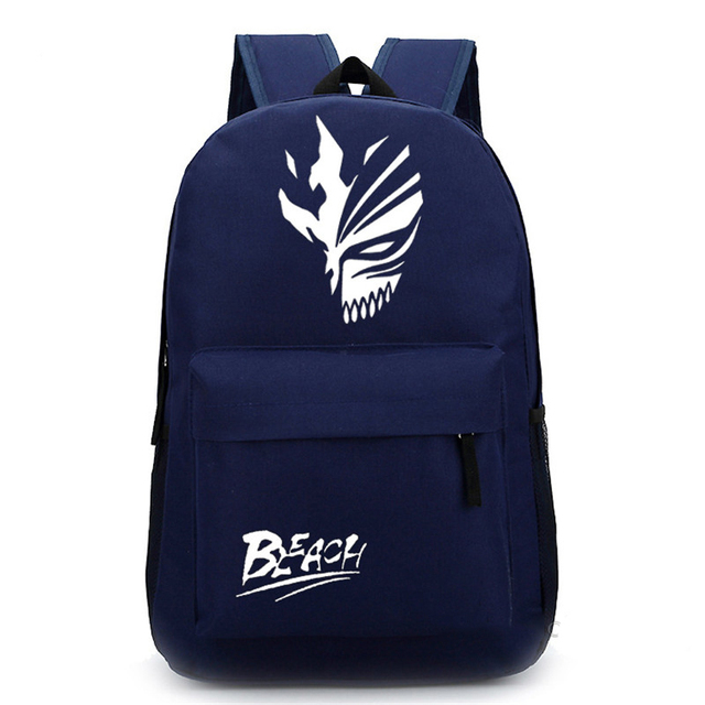 Bleach Ichigo Kurosaki Shoulders Bag Backpack School Bag