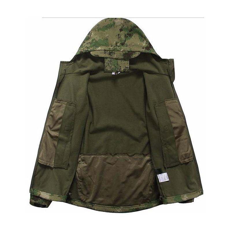 İsti açıq kamuflyaj paltolar kişi V5.0 Hərbi Taktik Ordu - İdman geyimləri və aksesuarları - Fotoqrafiya 3