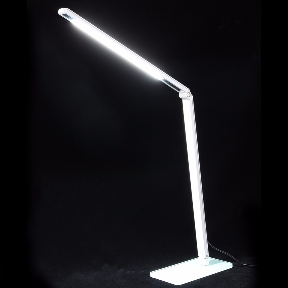 48 LED SMD Table Lamp Dimmable Energy Saving Desk Lamp Study Reading Protection Lamp Light Adjustable luminaria de mesa 2017 new 2 8w led table desk lamps luminaria de mesa 14 bulbs touch control 3 dimmable levels reading night light for home study