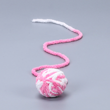 Funny Pet Cat Toys Interactive Play Balls Cute Colorful Rope Ball Toy Chew Plush Produtos Cats Products For Pets 50DC0001