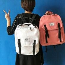 Корейский стиль новой коллекции старинные все матч женщины любителей рюкзак большое пространство простой все матч мешок школы книга сумка