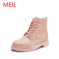 MEIL New Fashion Women Martin Boots Autumn Winter Boots Classic Ankle Boots For Women Zapatos Muje