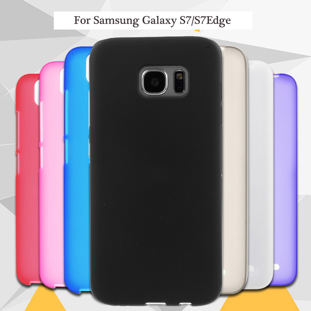Limelan New For Samsung Galaxy S7 S7edge G930 G935 High Quality Edge Flexible Black Tpu Matte Silicone Gel Skin Phone Back Case Cover