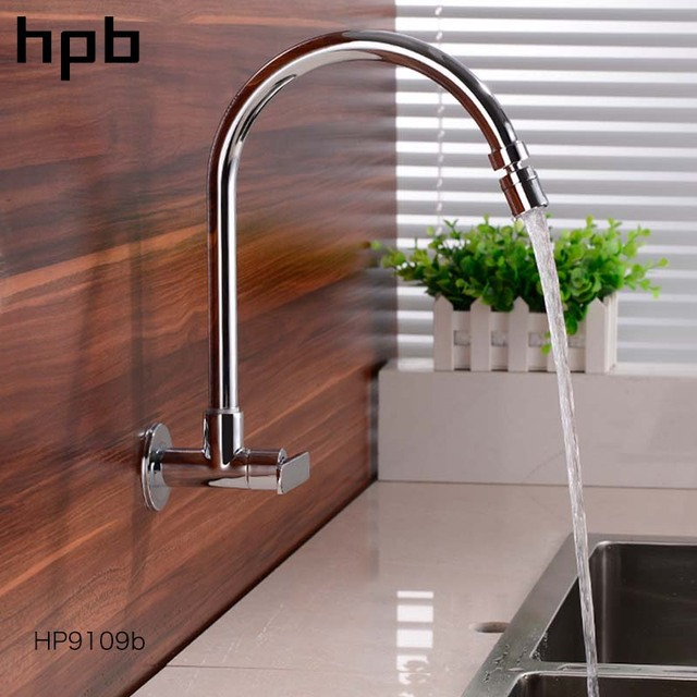 Hpb Kitchen Faucet Mixer Tap Sink Mixer Tap Kitchen Faucets Wall