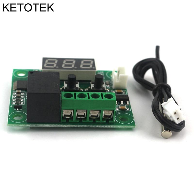 DC 12V Controlador digital de temperatura del interruptor de - Instrumentos de medición - foto 4